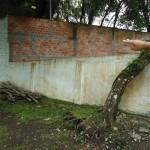 Obra Comercial - Execucao de muro