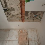 Obra comercial - Reforma banheiro
