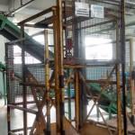 Obra industria - Construcao de infra para elevador de carga